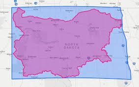 beulah dakota map if dakota were a storage unit what countries would fit