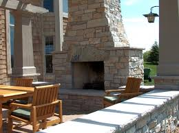 Fake Outdoor Fireplace - outdoor fireplaces and outdoor patios masonry by merlin goble