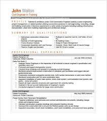 building engineer resume entry level civil engineer resume