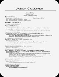 Best Resume For College Student by Fresh Ideas Best Resumes Ever 5 Top 41 Resume Templates Ever
