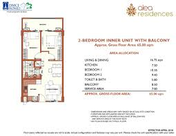 Naia Terminal 1 Floor Plan by Alea Residences Dmci Homes Resort Style Condominiums