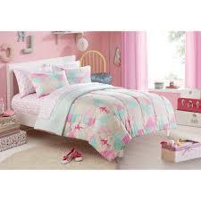 Walmart Girls Bedding Mainstays Kids Ballerina Bed In A Bag Bedding Set Walmart Com