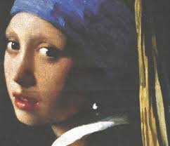 painting girl with pearl earring vermeer girl with a pearl earring 1665 fabric
