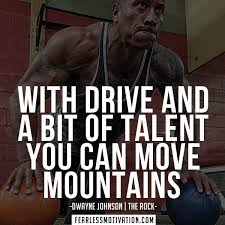 Inspirational Fitness Memes - 10 of the best motivation quotes by dwayne johnson the rock