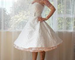 etsy tea length wedding dress etsy your place to buy and sell all things handmade