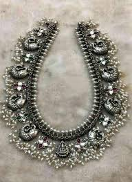 indian metal necklace images South indian jewellery indian women pinterest south indian jpg