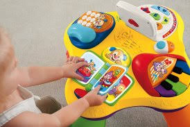 fisher price laugh learn puppy friends learning table fisher price laugh n learn puppy and pals learning table