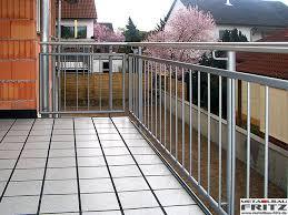 balkon edelstahlgel nder balkongeländer 27 02 metallbau fritz