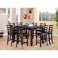 counter height dining room tables hill creek black pc ideas