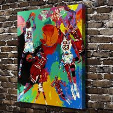 aliexpress com buy a1847 leroy neiman colorful abstract