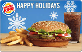 fast food gift cards burger king gift card giftcardmall