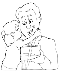 father u0027s day 5 coloring page