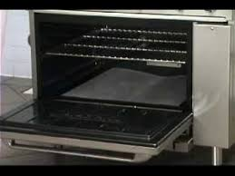 imperial convection oven pilot light imperial ir range ovens demonstration youtube
