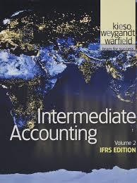 intermediate accounting volume 2 ifrs edition amazon de donald