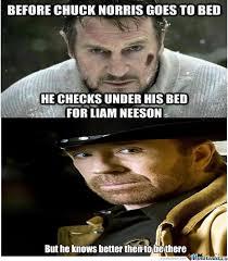 Liam Neeson Meme - chuck knows best of liam neeson
