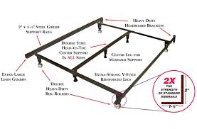 How To Make A Platform Bed Frame With Legs by Amazon Com Metal Bed Frame