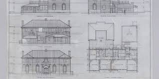 house architecture drawing architectural drawing elevations and first floor plan bank of nsw