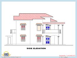 Kerala Home Design Floor Plan And Elevation floor plan square meter house l ideasidea