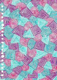 pink purple blue turquoise yay by plasticzebra on deviantart