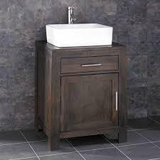 countertop bathroom sink units alta solid wenge oak single door bathroom basin cabinet