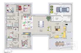 plan maison plain pied 4 chambres avec suite parentale plan maison a etage 100m2 9 plan maison plain pied 4 chambres