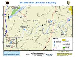 map of ky and surrounding areas kentucky department of fish wildlife green river hart county