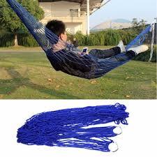 nylon swinging chair hammock hanging mesh sleeping bed swing