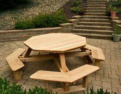 Woodworking Plans And Project Ideas Octagon Picnic Table Plans by Kid U0027s Octagon Picnic Table Woodworking Pattern I Have This Plan
