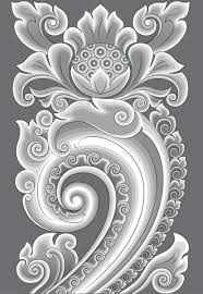 majapahit carved ornaments free vector in encapsulated postscript