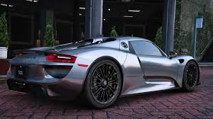 old porsche 918 2015 porsche 918 spyder u0026 weissach kit add on real spoiler
