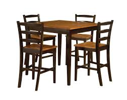 bar height patio set bar table and chairs dining table