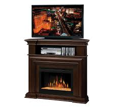 montgomery tv stand with electric ember bed fireplace tv
