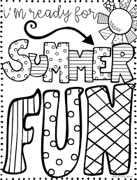 free summer quotes coloring page from fordsboard com from my