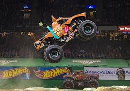 monster truck show tacoma dome enter to win a family 4 pack of tickets to monster jam macaroni kid