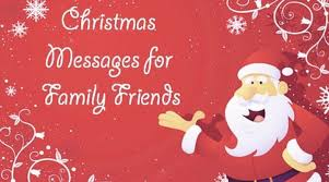 messages for family and friends merry wishes