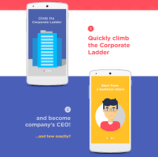 enqu android gamification on behance