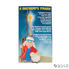 religious a shepherds prayer christmas ornaments 12 pk party
