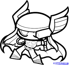 8 how to draw chibi thor