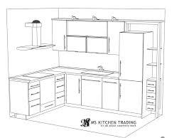 l shaped kitchen floor plans best 25 l shaped kitchen ideas on