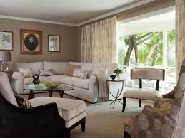 tan and brown living room ideas beige rattan boxes brown wall
