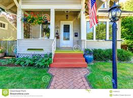 american flag house porch stock photos images u0026 pictures 278