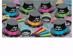new years party kits black light uv reactive nye party kits