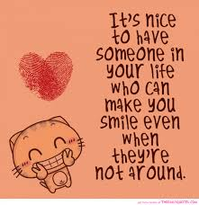 Funny In Love Quotes by Funny And Sweet Pictures With Quotes It Is Nice To Have Somenone