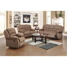 light brown living room ellis contemporary microfiber 3 piece dark brown living room set