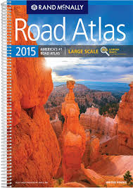 United States Map With Mileage Scale by Large Scale Road Atlas Rand Mcnally Large Scale Road Atlas Usa