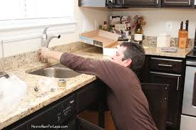 replacing kitchen faucet how to install a kitchen faucet how to nest for less