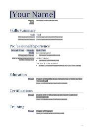 Sample Resume Doc by Free Resume Format Download In Ms Word Sample Microsoft Word