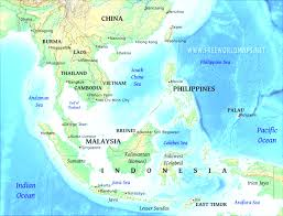 China Physical Map by Asia Physical Map Best East And Southeast Asia Physical Map