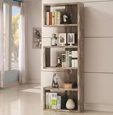 Distressed Wood Shelves by Distressed Bookcase Ebay