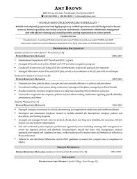 sample resume human resources entry level best resumes curiculum